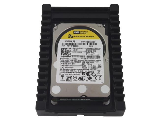 Western Digital WD800HLFS VelociRaptor SATA Hard Drive image 1