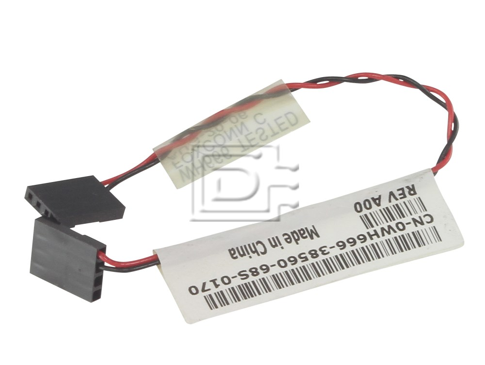 Dell WH666 0WH666 Dell battery assembly cable image 1