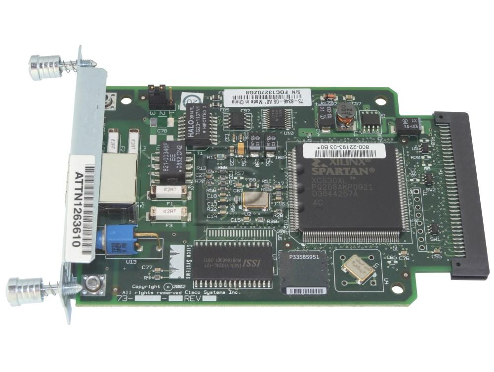 CISCO WIC-1DSU-T1-V2 Cisco T1 CSU/DSU Line Card image 1