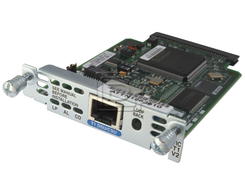 CISCO WIC-1DSU-T1-V2 Cisco T1 CSU/DSU Line Card image 3