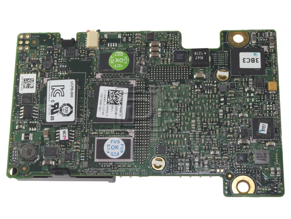 Dell WR9NT PK2W9 0PK2W9 0WR9NT SAS SATA PCI-e Controller Card image 2