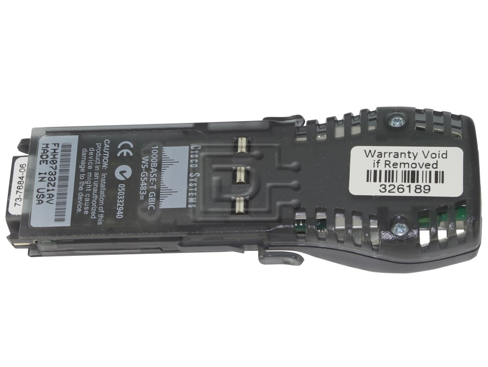 CISCO WS-G5483 1000Base-TX Gigabit Ethernet GBIC image 1