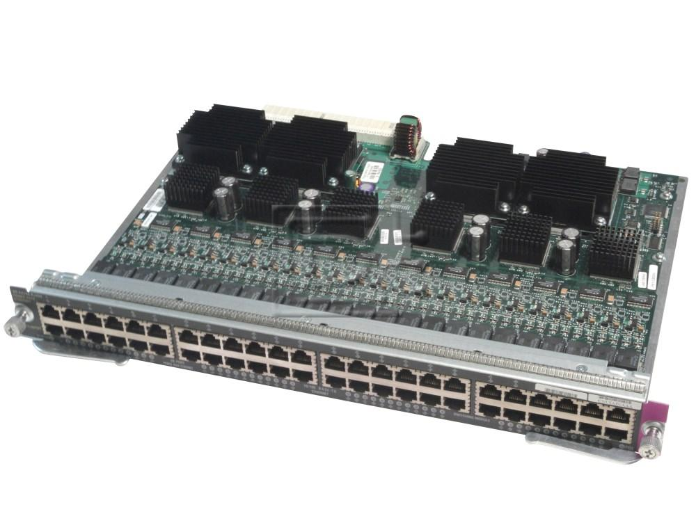 CISCO WS-X4248-RJ45V Cisco Catalyst 4006 4506 Line Cards image 1