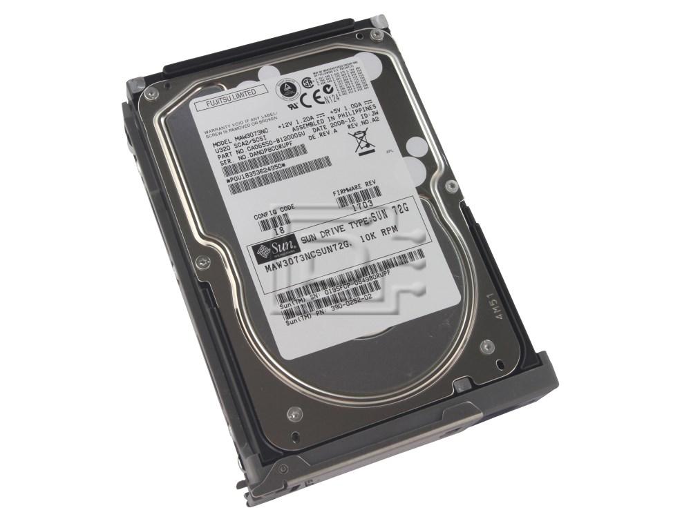 SUN MICROSYSTEMS X5245A 540-5771 ST373307LSUN72G MAW3073NCSUN72G SCSI hard drive image 1