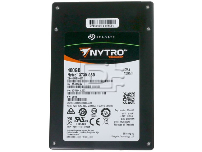 Seagate XS400ME10003 XS400LE10003 SAS Solid State Drive image 2