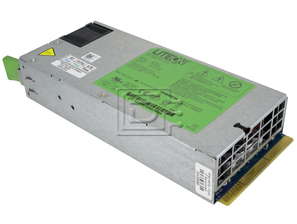 Dell Y53VG 0Y53VG PS-2142-2L RN0HH 0RN0HH D1200E-S1 DPS-1200MB-1 0XJ3GP Dell Power Supply image 2