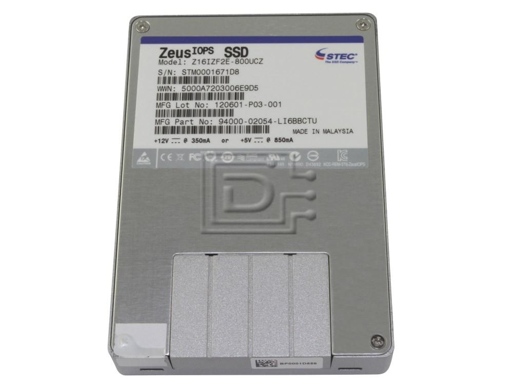 sTec Z16IZF2E-800UCZ sTec 800GB SAS SSD Drive image 1
